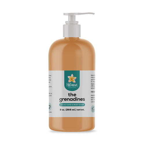 The Grenadines Liquid Hand & Body Soap