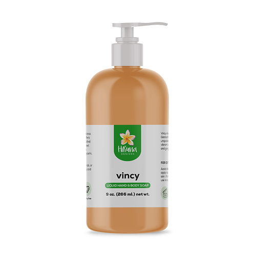 Vincy Liquid Hand & Body Soap