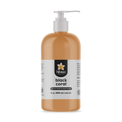 Black Coral Liquid Hand & Body Soap