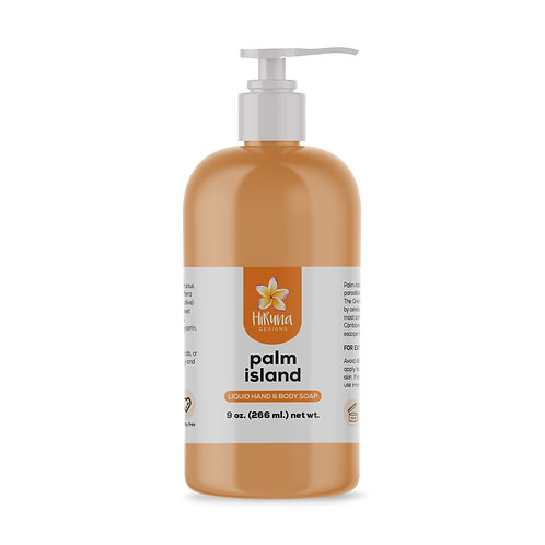 Palm Island Liquid Hand & Body Soap