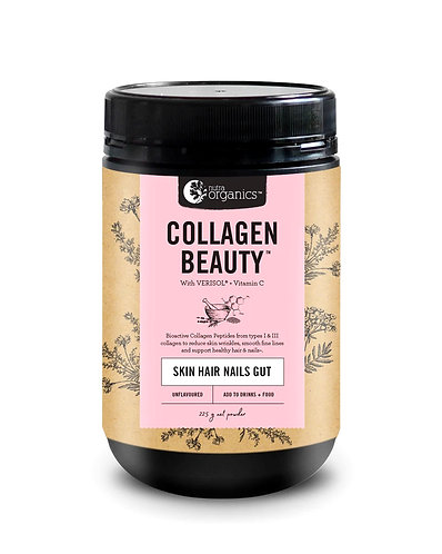 Nutra Organics, Collagen Beauty with Verisol + C