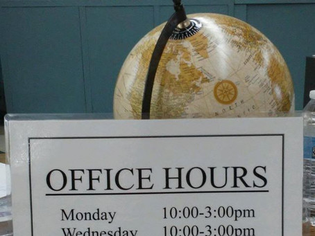 Announcing new office hours!