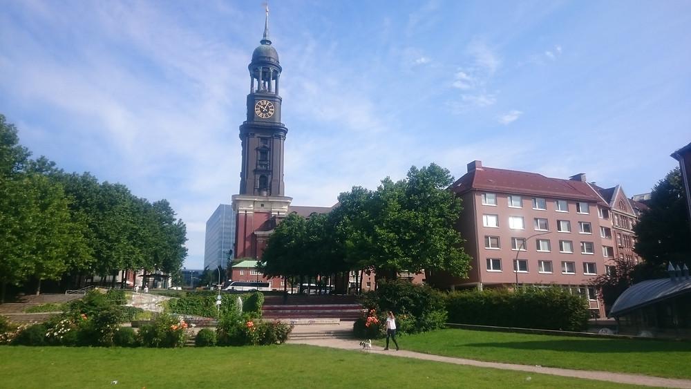 Hamburg, catedrala st Michael