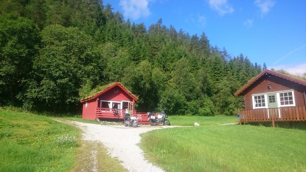 camping in Sande
