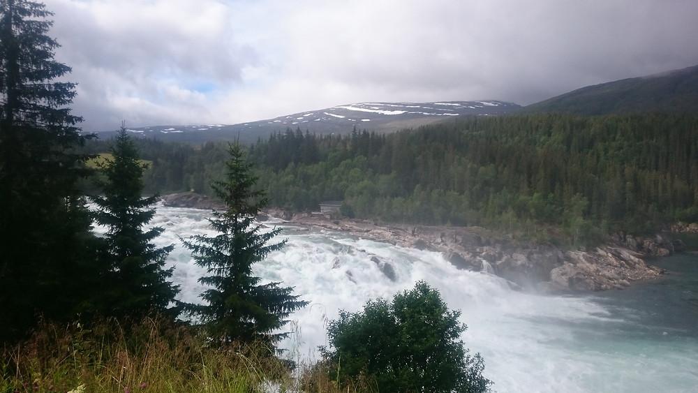 cascada Laksfors