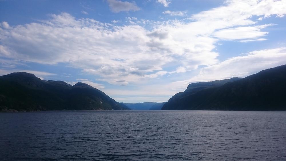 pe feribot la Nesvik
