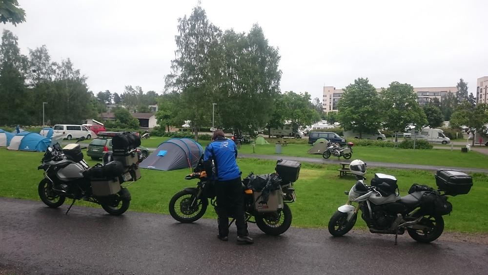 la camping in Helsinki