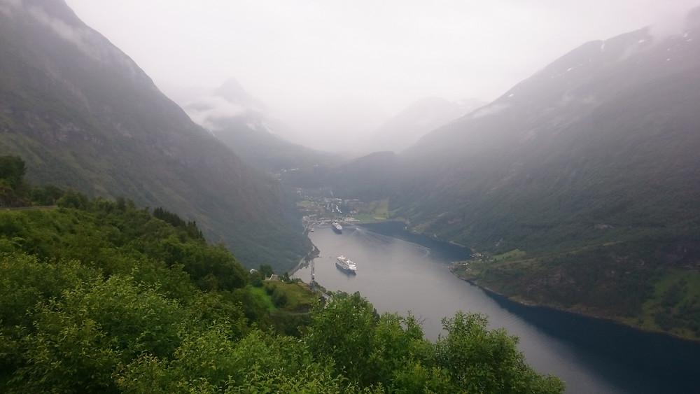 fiordul Geiranger