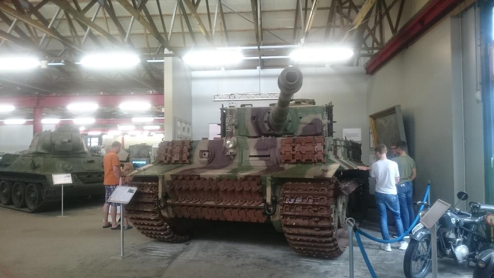 Munster, Panzer museum - tiger 1