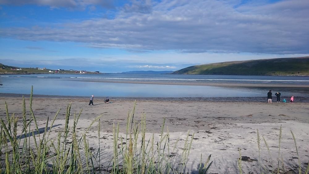 plaja langa Repvag