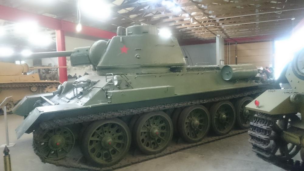 Munster, Panzer museum -T34