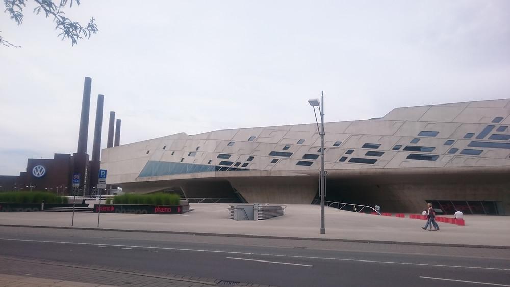 Wolfsburg, Phaeno, Zaha Hadid