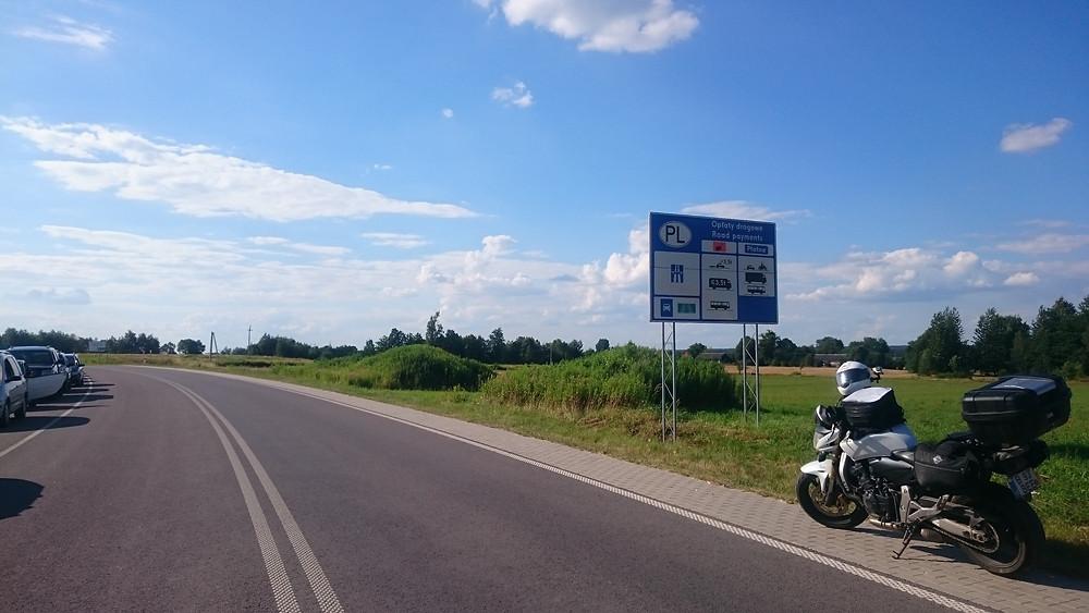 intrarea in Polonia