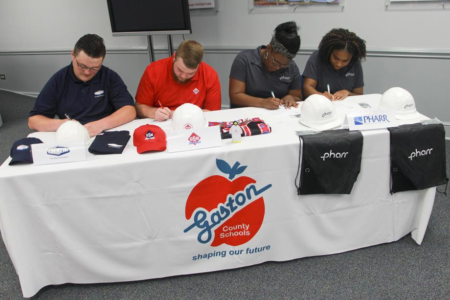 Gaston County Schools Career Signing Day
