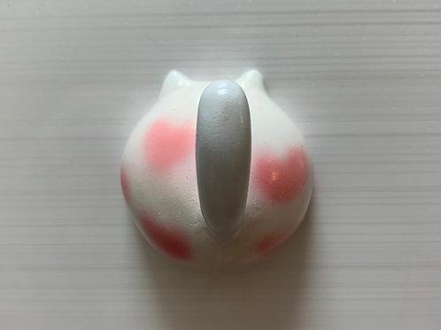 猫のマグネットフック(ハート猫)
