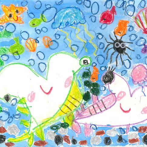 4歲, 西洋畫參與嘉許獎