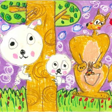 5 歲 ,  5-6歲組別 -優異, 樹熊