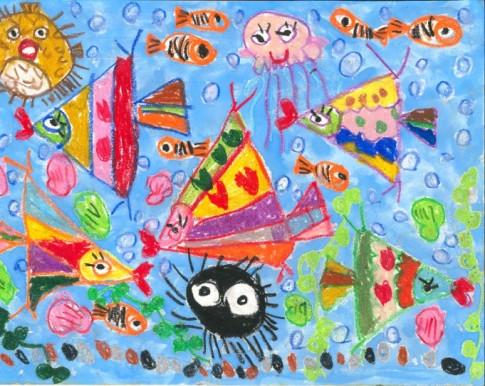 4歲, 3-4歲組別 – 季軍, 小魚兒