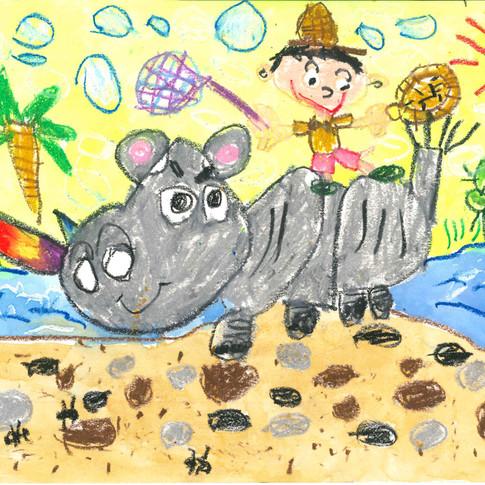 4歲, 西洋畫一等獎