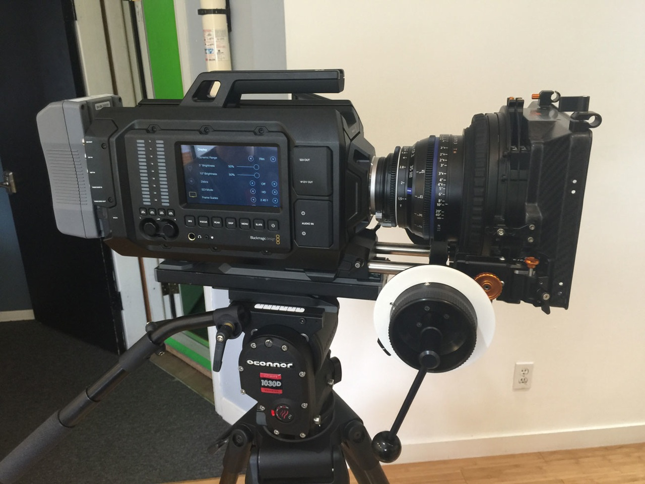 Professional gear for rent on site