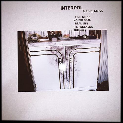 Interpol - A Fine Mess -Ltd- 12inch