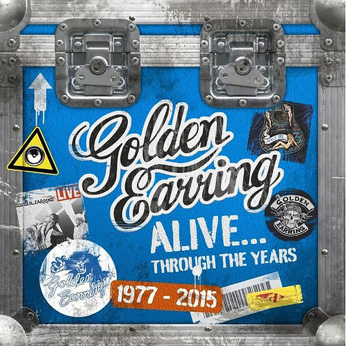 Golden Earring ‎– Alive...Through The Years 1977-2015
