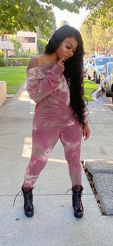 Trina Off The Shoulder Tie Dye 2 Piece