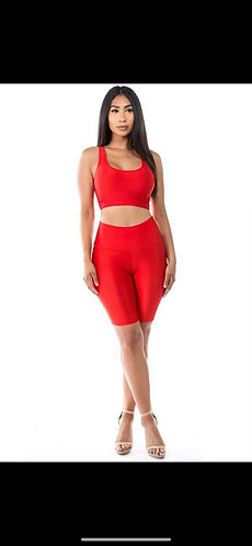 Deep Red Nelly 2 Piece