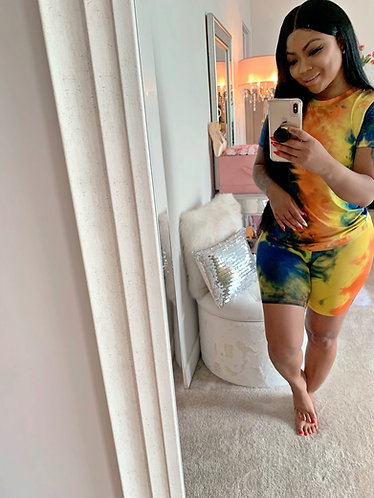 KeKe Sunset Tie-Dye 2 Piece