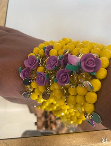 Yellow Chantel Bracelets