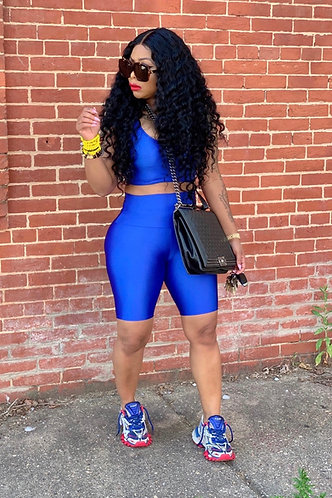 Royal Blue Nelly 2 Piece