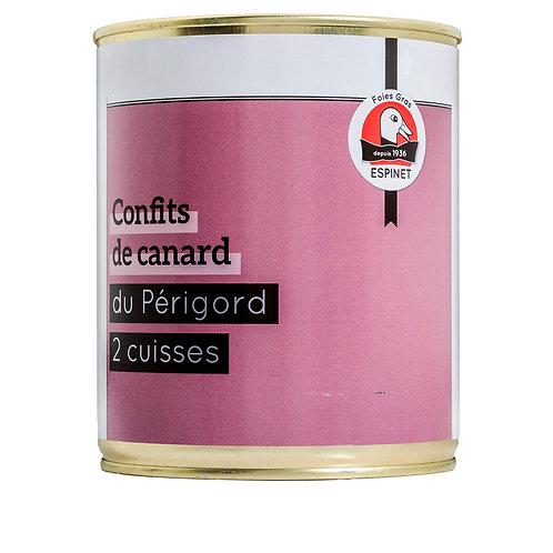 Muslo de Pato del Périgord IGP en Confit 2uds (750gr)