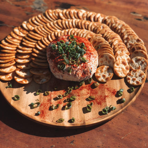Meat & Cheese Ball $65