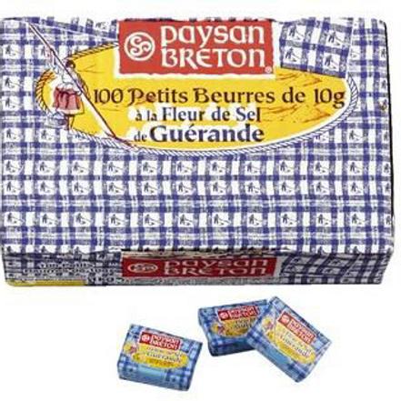 Mantequilla Paysan Breton en Porciones a la Flor de Sal 10gr 100 uds