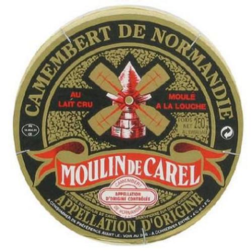 Queso de Vaca Camembert Moulin de Carel A.O.P 45% 250gr