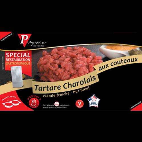 Steak Tartare de Buey Charolais cortado a cuchillo (180gr x 2uds)