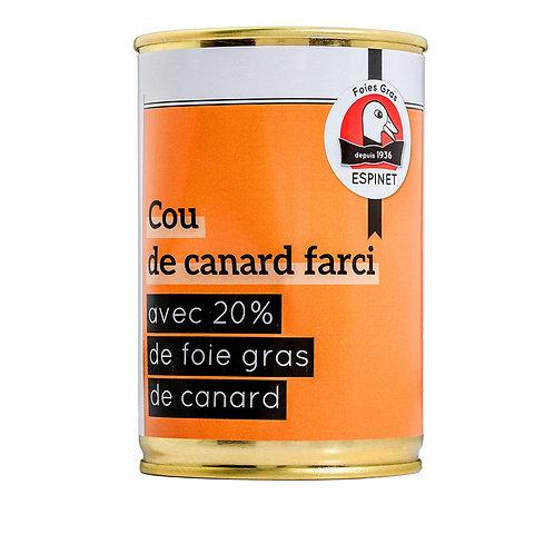 Cuello de Pato Relleno de Foie Gras 20% del Périgord 400gr