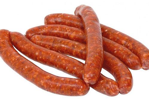 Merguez de Buey y Cordero de Francia Halal 1.0/1.2 kg