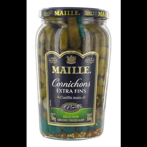 Pepinillos Extra Finos Maille 385gr