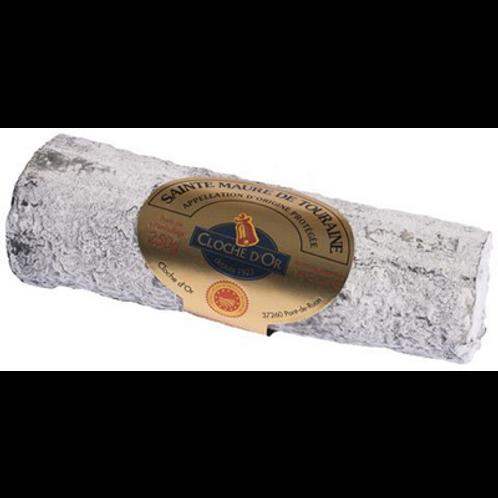 Queso de Cabra Sainte Maure ( ceniza ) Cloche D'Or A.O.P 200 gr