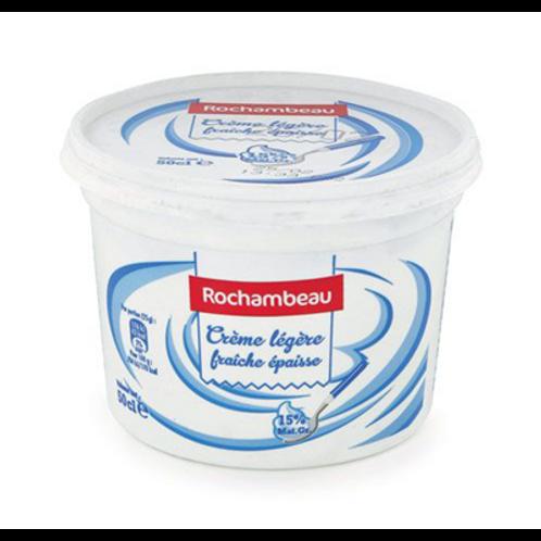 Crema ligera espesa Rochambeau 15%mg 50CL