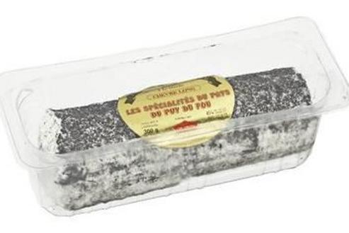 Queso de Cabra Le Puy du Fou ceniza largo CHUPIN 45% 300gr