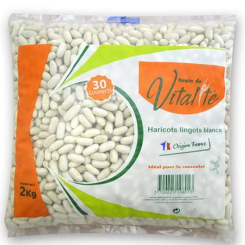 Judías  blancas Lingot Vitalité Francia 2kg