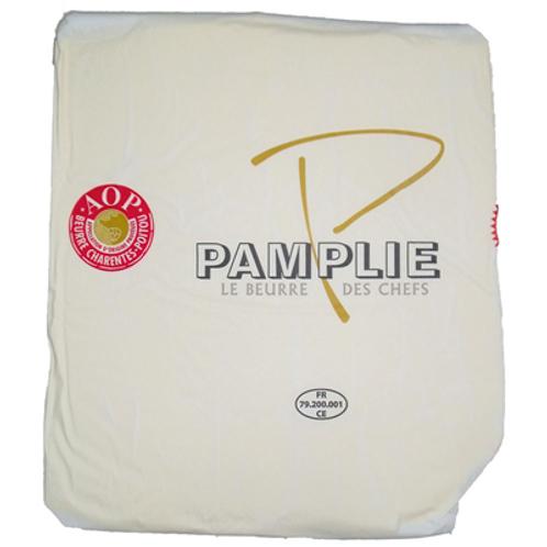 Mantequilla Artesana Pamplie AOP 82%mg Extra Seca 2kg (Hojaldres)