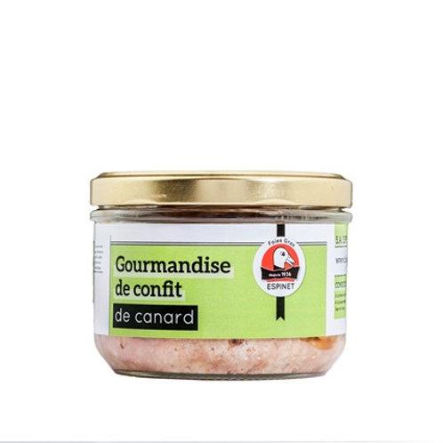 Gourmandise de Confit de Pato del Périgord 180gr