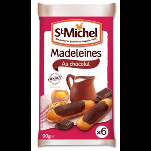 Magdalenas al chocolate St. Michel 6 x 90 gr