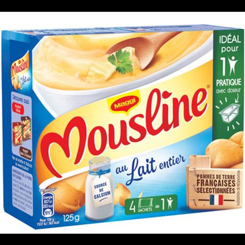 Puré de Patata con leche entera Mousline Maggi 125gr (4 x 31gr)