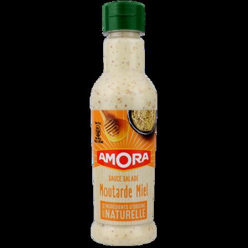 Salsa para ensaladas a la Mostaza y Miel Amora 210ml