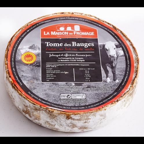 Queso de Vaca Tomme des Bauges (leche cruda) La Maison Du Formage 1.3/1.5kg