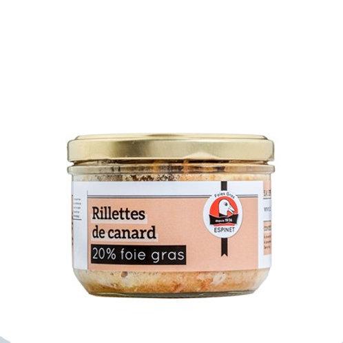 Rillettes de Pato del Périgord (20% de Foie Gras)
